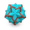 Carnival (masha_losk) Tags: kusudama кусудама origamiwork origamiart foliage origami paper paperfolding modularorigami unitorigami модульноеоригами оригами бумага folded symmetry design handmade art