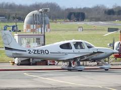 2-ZERO Cirrus SR22T Private (Aircaft @ Gloucestershire Airport By James) Tags: gloucestershire airport 2zero cirrus sr22t private egbj james lloyds