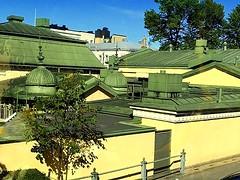 Finland, Helsinki. City Architecture (dimaruss34) Tags: newyork brooklyn dmitriyfomenko image sky clouds finland svetlanafomenko helsinki trees buildings roof roofs