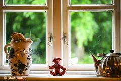 Rainy Days (stadtbrautphoto) Tags: rainydays regentage viewoutofmywindow ausmeinemfenster blickdurchsfenster dasfensterzumhof windowintothecourtyard viewthroughthewindow lookingoutofthewindow dreaming träumen glanceoutoftheapartmentwindow windowviews onthewindowsill windowsills aufderfensterbank dekoration decoration tolookoutofthewindow ausdemfensterschauen seehowweatherchangeseveryday fragranceofthejustcutgrass listentothevoicesofthefarmers beingpampered observingwhatisgoingon beobachten getupinthemorning simplystaredoutthewindow smileonsaturday roomwithaview romantisch romantic
