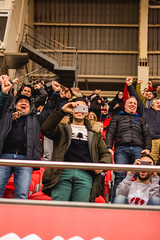 _MG_0069 (sergiopenalvagonzalez) Tags: futbol domingo palma de mallorca pelota jugadores aficion rojo negro pasion