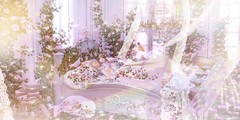 .they say if you Dream a thing more than once it's sure to Come True. (Jasmine * Stardust it's magic) Tags: sleeping beauty princess girl dreamy pure delicate roses animals fairies birds magic wind pastel sl second life fairytale