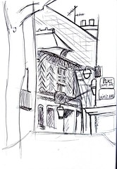 Saint Michel by Thomas - 11 avril 2018 (croquisdumercredi) Tags: croquis sketch rennes