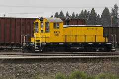 WRIX 1001 (Tom Trent) Tags: sw1 emd diesel switcher wrix westernrail roguevalleyterminal yard eugene lanecounty oregon