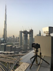 Some people just don't learn a lesson! It was worth the risk though (Aleem Yousaf) Tags: tall khalifa burj photography emirates arab united dubai travel iphone iphonography d810 nikon modern building architecture cityscape terrace hotel shangrila skyscraper city skyline sky