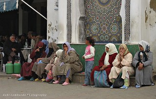 people at Meknes - Morocco