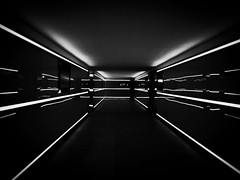 """Conceptual Underground"" (giannipaoloziliani) Tags: trainstation railwaystation photooftheday nero architecture black noir linee lines riflessi reflections dameofmirrors mirrors luci gamesoflights minimal minimalismo flickr sottopasso railway italia italy mantua mantova iphone7plus focalpoint lights lightandshadow underground neons darkness dark conceptual concept blackandwhite biancoenero monocromatico monochrome iphonephotography iphone"