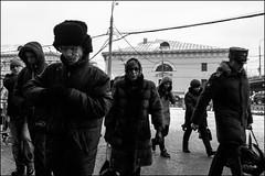 16dra0382 (dmitryzhkov) Tags: russia moscow documentary street life human monochrome reportage social public urban city photojournalism streetphotography people bw badweather dmitryryzhkov blackandwhite outdoor everyday candid stranger