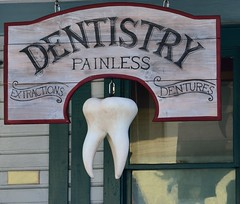 Dentist - Credit to http://homedust.com/ (Homedust) Tags: business care clean clinic dental dentist disease doctor healthcare hygiene logo medical occupation patient profession signage tooth treatment vintage
