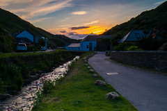 The beautiful village of Bowcastle and the quiet River Valency (Geordie_Snapper) Tags: boscastle boscastleatdusk canon5d4 canon2470mm cornwall duskinboscastle holidayboscastle june rivervalency summer england unitedkingdom gb