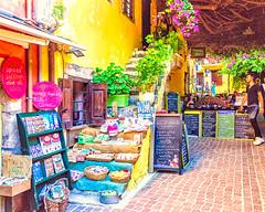 Chania, Crete (Kevin R Thornton) Tags: d90 crete travel street shop city greece mediterranean architecture chania nikon creteregion gr
