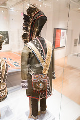 Ojibway outfit (quinet) Tags: 2017 aborigène canada firstnations indian kunst ontario rom royalontariomuseum toronto ureinwohner aboriginal art museum musée native 124