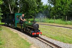 2005 Silver Jubilee (davids pix) Tags: 2005 silver jubilee herbert bullock miniature steam locomotive pacific surrey border camberley eastleigh lakeside railway 10¼ 1025 gauge 2018 16062018