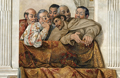 The Embassy of Hasekura Tsunenaga in Rome, speaking with Luis Sotelo Italy (1615) Sala Regia, Quirinal Palace, Vatican City (medievalpoc) Tags: art history fresco hasekura tsunenaga medievalpoc vatican city italy 1600s