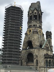 Remains Of Bombed Cathedral - Berlin, Germany - June 2018 (firehouse.ie) Tags: cathedrals churches religion architecture building buildings ww2 war memorial germany church cathedral christian destroyed bombed berlin