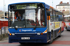 20914 R914 XVM (Cumberland Patriot) Tags: stagecoach north west england greater manchester south buses stockport volvo b10m b10m55 alexander ps 914 20914 r914xvm step entrance bus derv diesel engine road vehicle public transport 386 greave