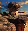 El Abuelo (juanmzgz) Tags: gabarda huesca aragón españa torrollón relieve morfología erosióndiferencial geología areniscas rocas atardecer