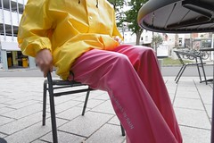 City (lulax40) Tags: pvc rubber rubberboots rainwear rubberist raingear regenkleidung hunter gummistiefel chelsa boots pink rubberslave rubberfetish rubbergear rubberman fetishist fetish public bibpants gummilatzhose abeko gummistiefeletten