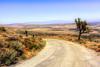 Downhill Desert Road (joe Lach) Tags: downhilldesertroad desertroad californiaaqueduct joshuatree meandering mojavedesert mohavedesert antelopevalley california joelach tierrasubidaroad