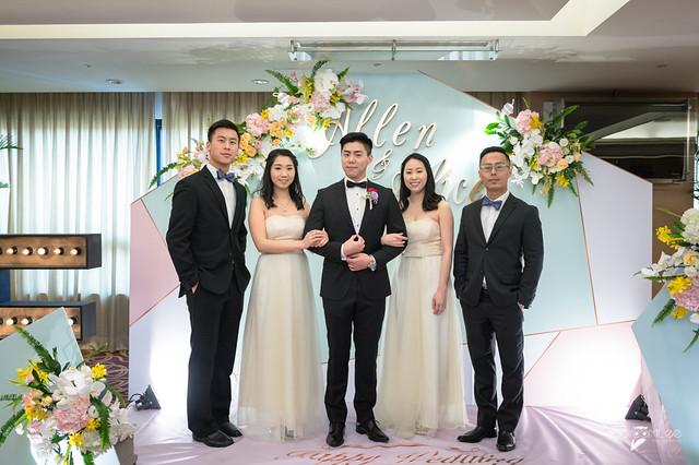 Allen&Alice-台南大億麗緻宴客-婚禮記錄-16
