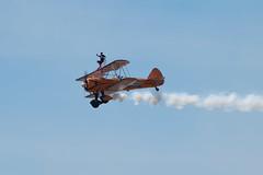 Aerosuperbatics Wingwalkers (WDGImages) Tags: aerosuperbatics wingwalking boeingstearman westonairshow
