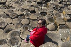 Petty Giant (syf22) Tags: rock formation hexagonal giantscauseway northernireland column uniform shape finnmaccool basalt volcanic eruption unesco worldheritage nationnaturereserve naturalwonder environment sea water coast causewaycoastway 六角石