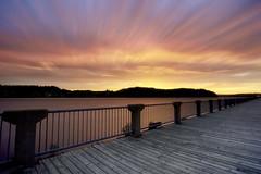 Lever du jour le long du Saguenay (04-06-2018) (gaudreaultnormand) Tags: canada frais juin leverdesoleil longueexposition lumière quebec saguenay sunrise