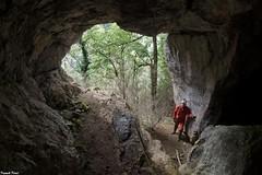 Porche d'entrée de la Grotte de Gouaille A - Salins Les Bains - Jura (francky25) Tags: entrée de la grotte gouaille a salins les bains jura porche franchecomté karst
