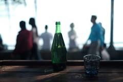 water bottle@Tamsui, Taiwan (Amselchen) Tags: bokeh blur dof depthoffield season summer tamsui taiwan trip travel fujifilm fujinon xt2 fujifilmxt2 xf35mmf14r