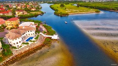 Terrific Tranquility Tampa Bay Boating Bliss - IMRAN™ (ImranAnwar) Tags: adventure aerial apollobeach beach boat boating canal dji florida flying greenery homes imran imrananwar lifestyle luxury neighborhood phantom4 realestate summer tampabay water