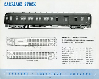 CRAVENS (Sheffield) Rolling Stock Catalogue