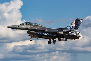 93-0691, Lockheed F-16D Turkish Air Force @ Schleswig-Jagel ETNS