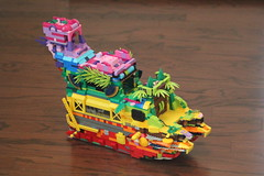 The Rainbow Ship (SatBrumane) Tags: lego ship
