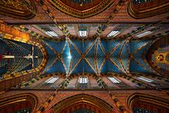 St. Mary's Church (matt.kueh) Tags: ceiling church cracow krakow krakau poland stmaryschurch architecture symmetry sonyilce7m2 sonyfe1635mmf4zaoss