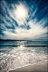 Serious Cirrus (niggyl (well behind)) Tags: bicheno bichenotasmania waubsbay tasmania tasmansea sunset sundown cirrus cloudsstormssunsetssunrises eastcoasttasmania eastcoast fujifilm fujifilmxt2 fujixt2 xt2 fujinon fujinonxf1428r fujixf1428 fujixf1428r xf14mmf28r xf14mm xf14mmf28 cloudporn altocirrus cirrostratus cloudscape seascape beach contrejour backlight breathtakinglandscapes