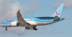G-TUIA TUI 787 (john smitherman-http://canaviaaviationphotography.) Tags: gtuia 787 7878 plane planespotting fly flight flug flughafen aviation aircraft airliner airplane aeroplane airport dreamliner canon 1dmk4 100400l jet egkk london londongatwick gatwick gatwickairport lgw