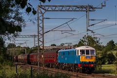 Early Morning Sparks (mattjspencer) Tags: train locomotive railway class86 rytc railwaytouringcompany wcrc westcoastrailwaycompany electric al6