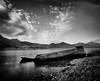 Mull (gerainte1) Tags: mull scotland loch sea coast boat film acros100 blackandwhite