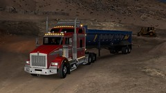 Operation Big Sur!! (Fab5001) Tags: american truck simulator ats americantrucksimulator t800 kenworth big sur bigsur