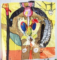 hero-03 (nir mazliah) Tags: new family portrait color art me water ink self fence watercolor painting paper landscape israel telaviv mixed media paint industrial fighter hand image personal made identity journey frame figure expressionism expressive express emotional gouache shape liquid mulberry individual mixmedia nir ecoline mazliah talens