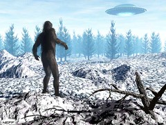 The TRUTH! (mathowie) Tags: bigfoot foundart usenet ufo