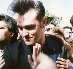 Morrissey at KROQ (1990 :: YES, 1990!) (pinkbelt) Tags: morrissey thesmiths pinkbelt kroq
