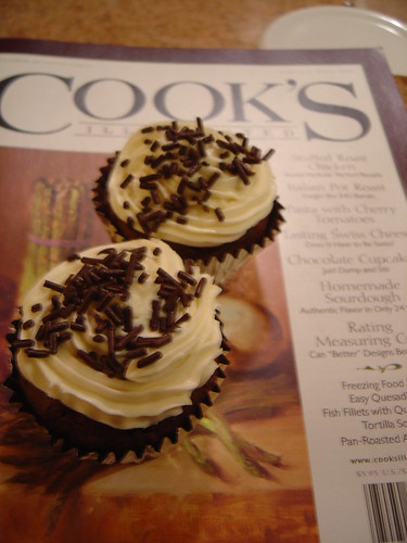 Dark Chocolate Cupcakes and Recipe