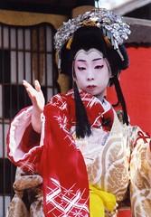 Kabuki actor 9 (転倒虫) Tags: boy people japan topv1111 kabuki actor nagahama