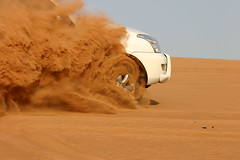 With Might and Zest He Blazed (Ziko) Tags: prado desert bashing drive weekend sand dubai emirates action tccomp005 topf25 toyota landcruiser