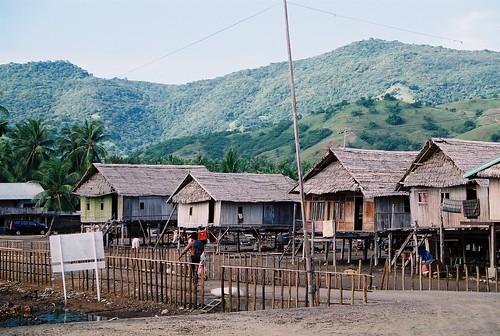 Muslim Bugis stilt house community of Riung