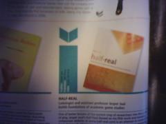 Half-real = isbn 0262101106 // Jasper Juul (inju) Tags: book theory videogame academic jesperjuul ludology halfreal