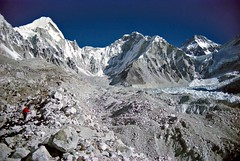 Getting Close... (viiny) Tags: nepal everest basecamp mountain alpinism trekking tourism khumbu altitude landscape