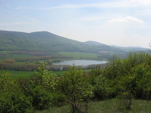 Los Pequeños Cárpatos (Male Karpaty) al Oeste de Eslovaquia.