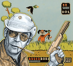 Tim Tomkinson - Duck Hunter S. Thompson